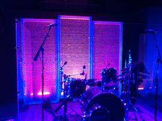 Bublé Wrap Stage Design For Reception.