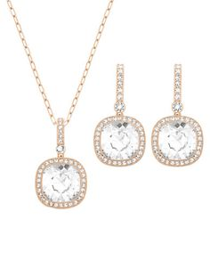 What's New | Jewelry | Below Rose Gold Tone and Crystal Necklace and Earrings Set | Lord and Taylor