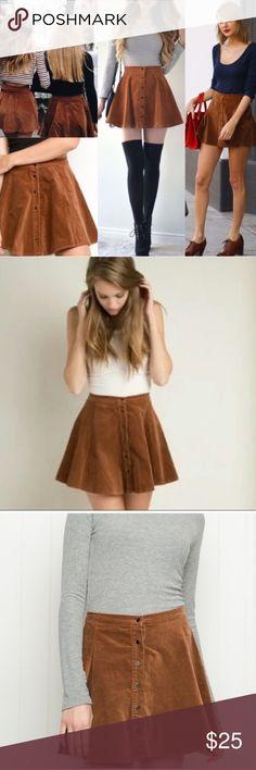 Brandy Melville Skirt Super adorable! OS but fits an xs-s Brandy Melville Skirts