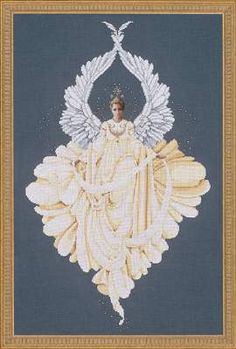 Peace Angel by Lavender and Lace - Cross Stitch Kits & Patterns