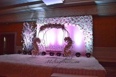 Ceremony Decorations, Flower Decorations, Cradle Decoration, Naming Ceremony Decoration, Cradle Ceremony, Frozen Birthday Party, South India, Hyderabad, Birthday Party Decorations