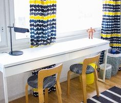 Koululaisen huone Marimekko, Scandinavian Kids Rooms, Woven Wood Shades, Leelah, Marble Bath, Birthday Frames, Home Ownership, Hygge, Decoration