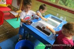 Waterplay Their Way by Teach Preschool
