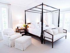 Master bed: curtains. Living the Americandream - desire to inspire - desiretoinspire.net