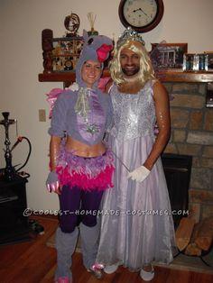 Dragon and Fairy Princess Couple Costume… Coolest Halloween Costume Contest Halloween Costume Contest, Funny Halloween Costumes, Homemade Costumes, Fairy Princesses, Dragon, Husband, Couples, Collection, Makeup