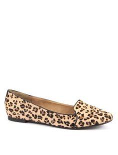 Leopard Print Slipper Shoes