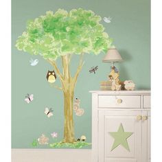 Fine Decor Tree House WallPops Wall Stickers