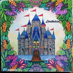 Coloring Stuff Pages Joanna Basford Color Inspiration Enchanted Forest Maryland Book Chance Books Quote
