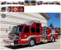 Richardson (TX) Fire Department 2015 E-ONE Quest Gen II #Pumper - #Fire #Apparatus #Setcom