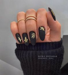 Chic Nails, Stylish Nails, Trendy Nails, Swag Nails, Speing Nails, Chic Nail Art, Black Acrylic Nails, Matte Black Nails, Best Acrylic Nails