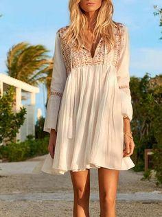 NEW Womens Sleeveless A-Line Dress Size XL Above Knee Cut Out Back Soft Elephant