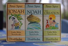 Peter Spier's Little Bible Storybooks retold by Peter Seymour pictures by Peter Spier ~ Doubleday, 1983   Children's Publishing Blog: Vintage Kid's Books My Kid Loves