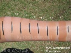 MAC Matchmaster foundation. Also, findation for other similar shades.