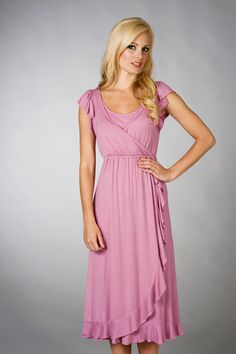 c7c219a9f0e2 A summery dress for the breastfeeding days. Pink Kjole