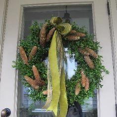 Boxwood Wreath Image