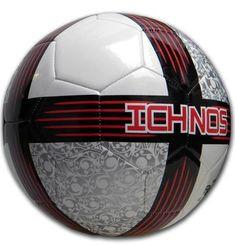 Ichnos Koru fire game football ball official size 5