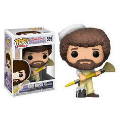 Color:Multicolor From the joy of painting, Bob Ross, as a stylized pop vinyl from ! collect them all! Vinyls and let our Bob Ross pop! From the joy of painting, Bob Ross, as a stylized pop vinyl from ! Bob Ross, The Joy Of Painting, Pop Vinyl Figures, Vinyl Toys, Funko Pop Vinyl, Happy Little Trees, Pop Television, Thing 1, Funko Pop Figures