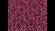 غرزة شرابة الذرة ..... تريكو ... Knitting Tassel Stitch