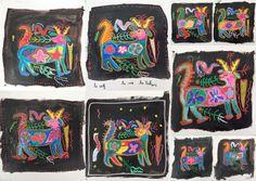 les petites têtes de l'art: D'après Visions huichol. Un art amérindien du Mexi...
