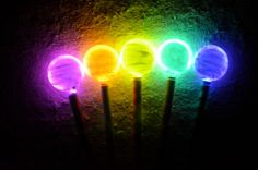 Luminous Wands: Check out this tutorial on how to make your own glowing wand. Looks pretty easy and you can make it as simple or complicated as you want. *pinned by wonderbaby.org
