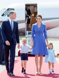 Kate Middleton's Entire Family Just Wore the Cutest Coordinating Outfits via @WhoWhatWear