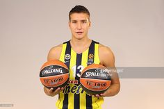 Bogdan Bogdanovic #13 of Fenerbahce Istanbul poses during the 2016/2017 Turkish Airlines EuroLeague Media Day at Fenerbahce Ulker Sports Arena on September 29, 2016 in Istanbul, Turkey.