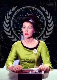 Star Trek: Lady Trek AU – Number One as admiral