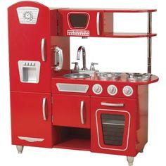 Kidkraft Retro keuken rood   Klein.nl