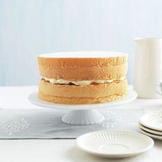 Featherlight Sponge Cake!!! simple sponge cake recipe just my style