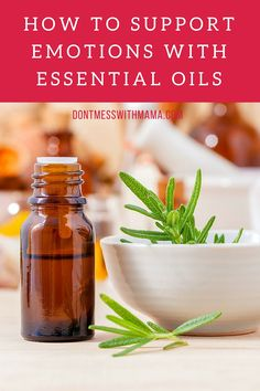 VIDEO TUTORIAL: How to Support Emotions with Essential Oils - learn how to use essential oils to feel better, get clarity, and overcome emotional blocks - DontMesswithMama.com