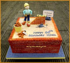 Bricklayers cake - Cake by Heavenly Treats by Lulu