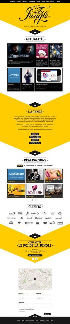 La Jungle Design - Interactive communication agency - Agency, Apps, Studio, Webdesign, Inspiration, Scrolling Site, Social Media, Website, Communication