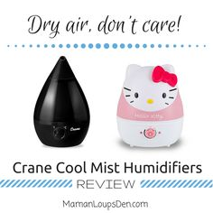 Crane Dry Mist Humidifiers Review