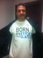 I want one of these T shirts! #NHS