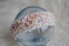 newborn tieback headband baby headband wrap by handmadebylululu