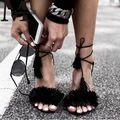 Femmes Chaussures D'été Gladiateur À Talons Hauts…