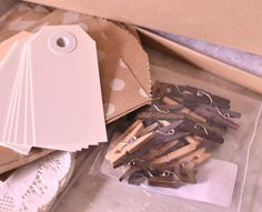 Packaging and gift wrap kit  Neutrals  mix of by PaperAndPresent, $35.00