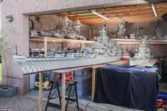 BrickWorm: 24-Foot Long USS Missouri Battleship in LEGO