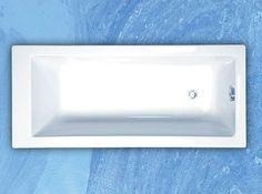ROLTECHNIK KUBIC 180 x 80cm vaňa klasická obdĺžniková, akrylátová, 8960000 - Všetko pre kúpeľňu.sk
