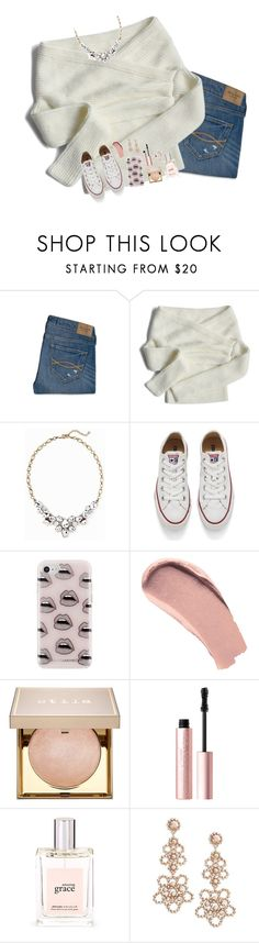 """""""I emailed to get my cheer tryout form😬"""" by pineapple5415 ❤ liked on Polyvore featuring Abercrombie & Fitch, Chicwish, Old Navy, Converse, Rebecca Minkoff, Burberry, Stila, Too Faced Cosmetics, philosophy and Kate Spade"""
