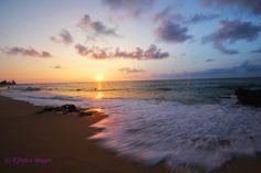 . . sunrise . . Sandy Beach . . Honolulu, Hawaii . .