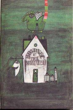 Kveta Pacovska Take Shelter, Artist Profile, Children's Literature, Artist Names, Book Illustration, Masters, Pencil, Houses, Interiors