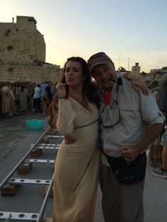 """More BTS of """"The Dovekeepers"""". Ziva David, Castle Tv, Ncis, Lauren Holly, Greys Anatomy Cast, Ski Fashion, Beautiful Inside And Out, Stana Katic, Cote De Pablo"""