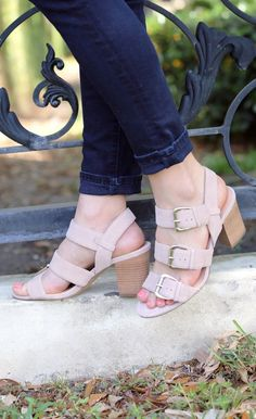 These Sole Society sandals look great with my dark skinny jeans.