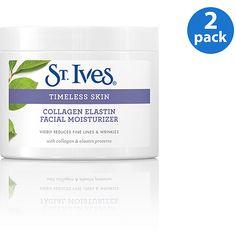 St. Ives Swiss Formula Collagen Elastin All Skin Types Facial Moisturizer 10 oz (Pack of 2)