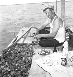Nothing fresher than oysters eaten right out of the Apalachicola Bay! Vintage Florida, Old Florida, State Of Florida, Bonita Beach, Jupiter Florida, Merchant Marine, Franklin County, Key West Florida, Easter