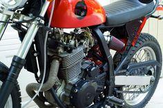 Reader Ride. BADASS DR650 Streetfighter / Motard.