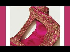 Blouse Designs High Neck, Simple Blouse Designs, Blouse Designs Silk, Kurta Neck Design, Blouse Models, Dress Sewing Patterns, Clothing Patterns, Boat Neck, Design Youtube
