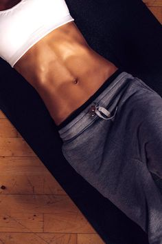 THIS is how you can get that super toned stomach. #abs