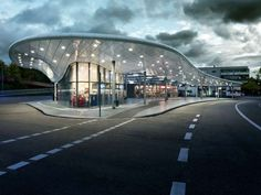 Bus Station Hamburg on Architizer